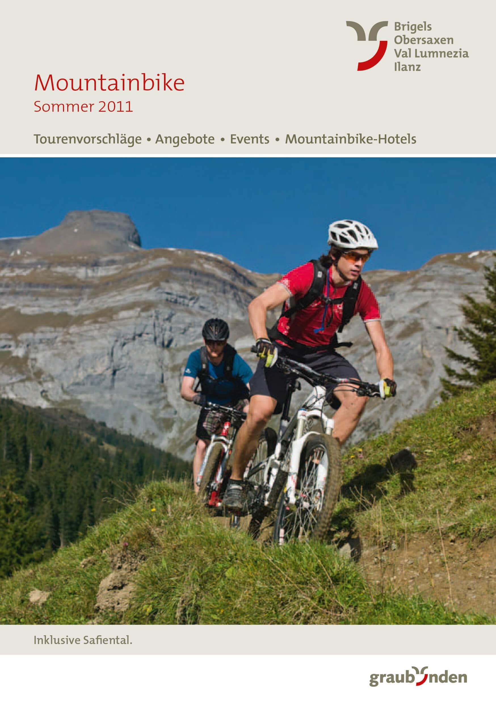 Bild Surselva Bike Broschüre