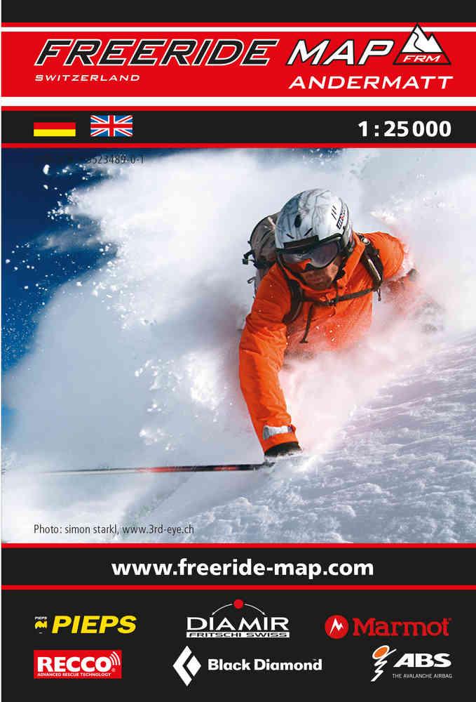 Cover Freeride Map Andermatt