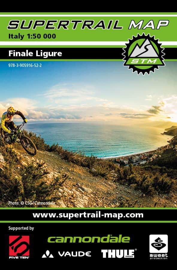 Cover Supertrail Map Finale Ligure