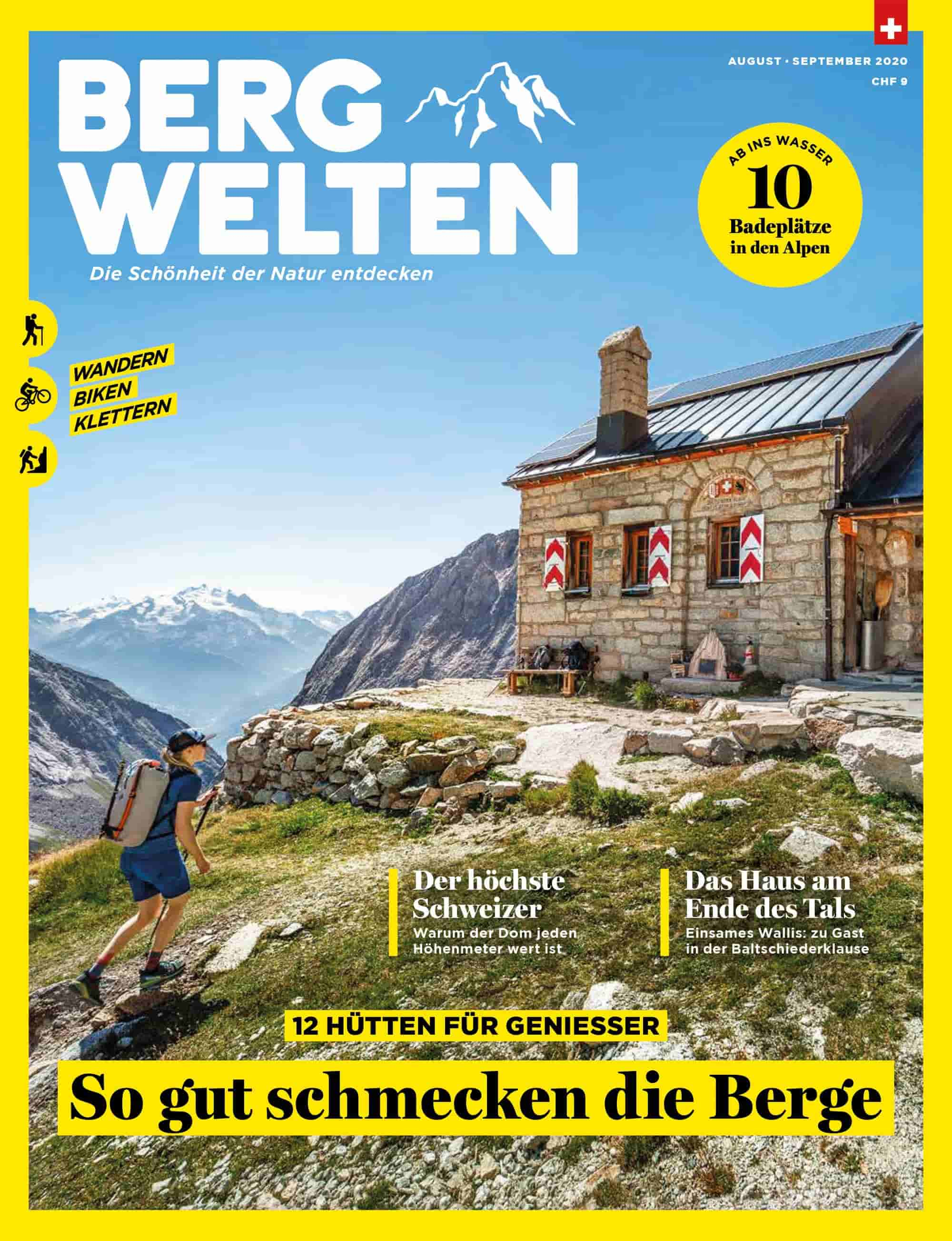 Cover Bergwelten