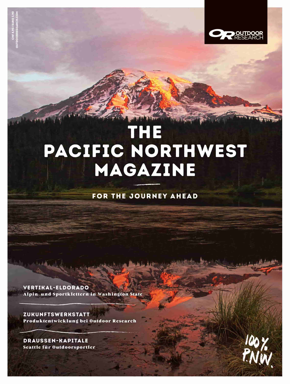 Cover Pacific Northwest Magazine
