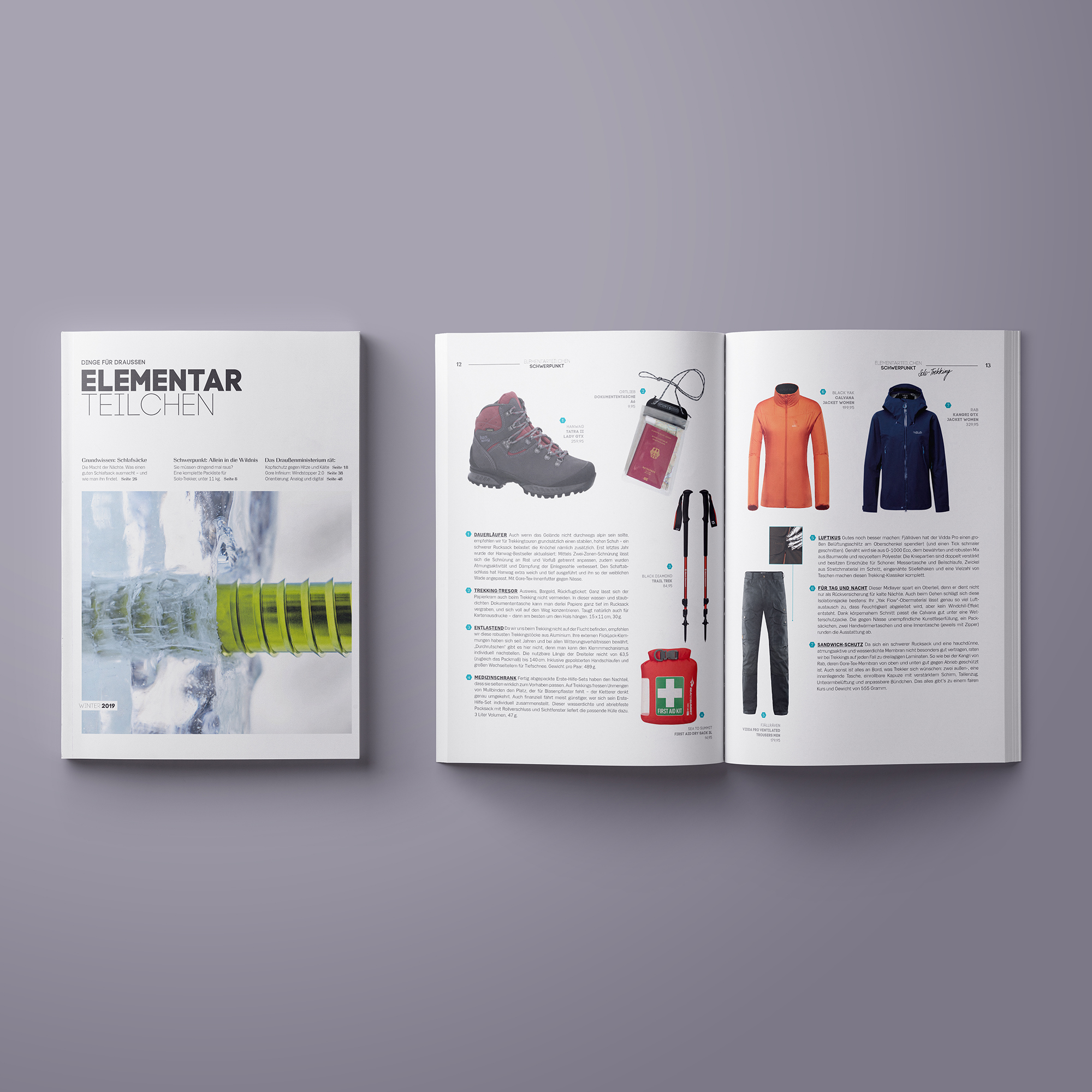 Bild Elementarteilchen Magazin